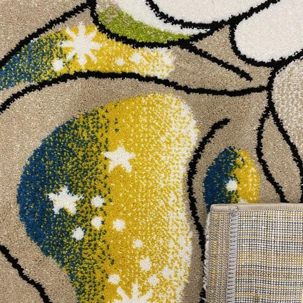 Детски килим – Найс 239 Бежов - детайл - 3