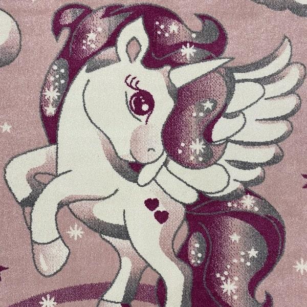 Детски килим – Найс 239 Розов - детайл - 1