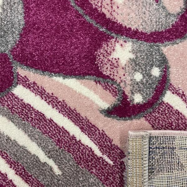Детски килим – Найс 239 Розов - детайл - 3