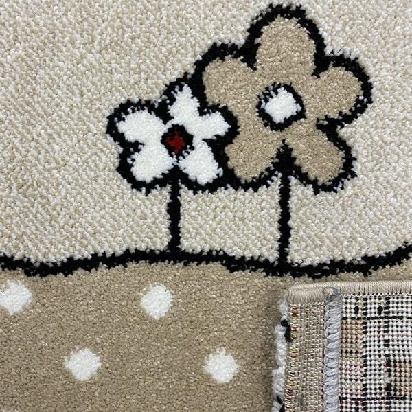 Детски килим – Найс 486 Бежов - детайл - 3