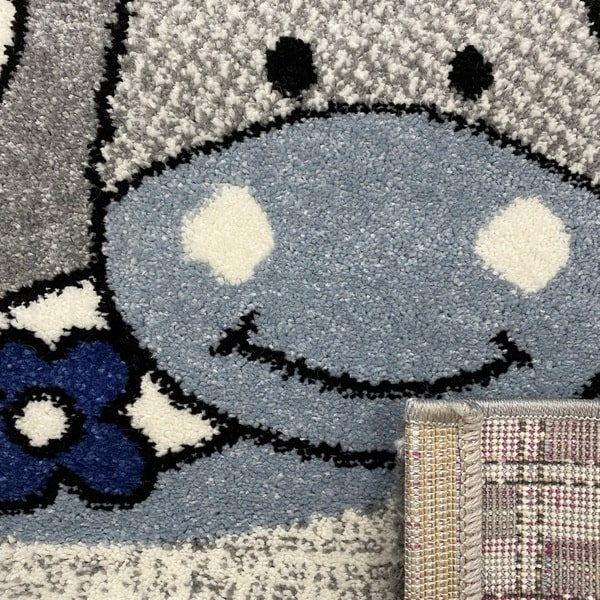 Детски килим – Найс 486 Син - детайл - 3
