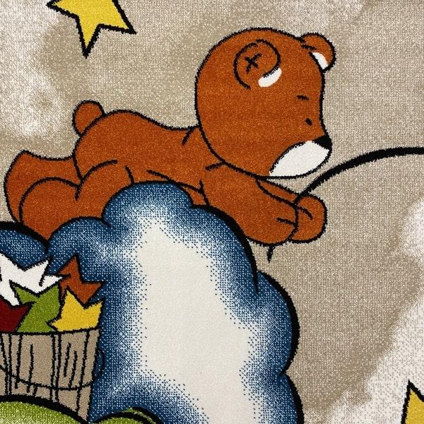 Детски килим – Найс 547 Бежов - детайл - 1