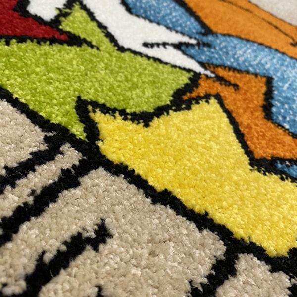 Детски килим – Найс 547 Бежов - детайл - 2