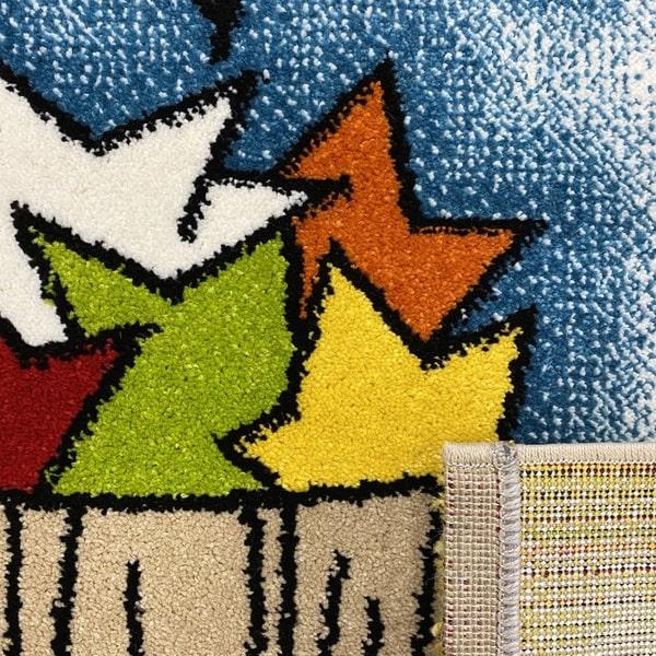 Детски килим – Найс 547 Бежов - детайл - 3