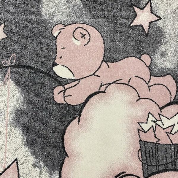 Детски килим – Найс 547 Розов - детайл - 1