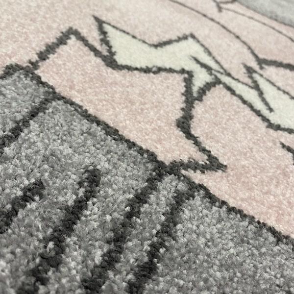 Детски килим – Найс 547 Розов - детайл - 2