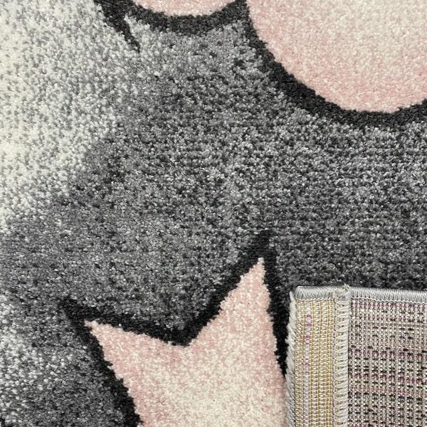 Детски килим – Найс 547 Розов - детайл - 3