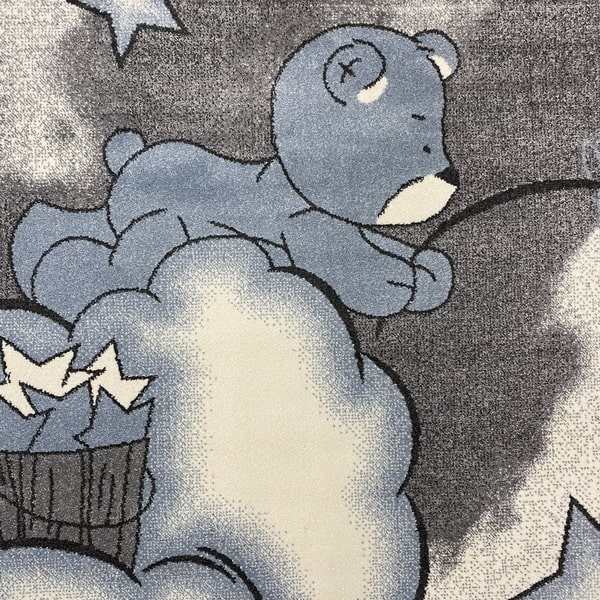 Детски килим – Найс 547 Син - детайл - 1