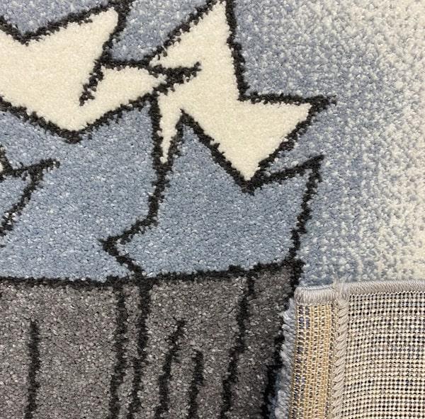 Детски килим – Найс 547 Син - детайл - 3