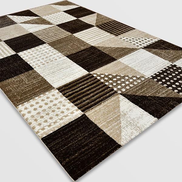 Модерен килим - Ирис 605 Бежов
