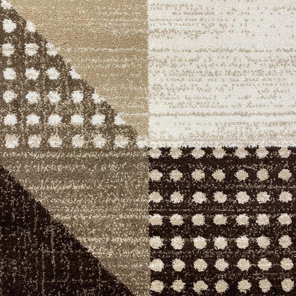 Модерен килим - Ирис 605 Бежов - детайл - 1