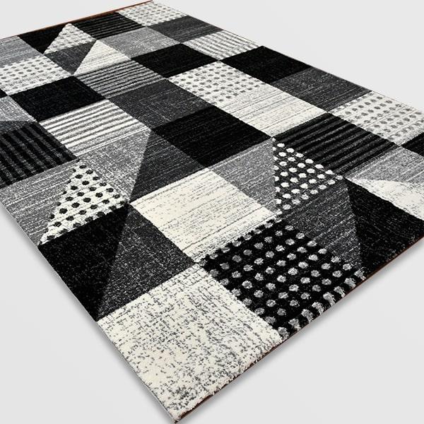 Модерен килим - Ирис 605 Сив