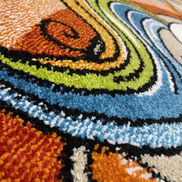 Детски килим – Найс 856 Бежов - детайл - 2