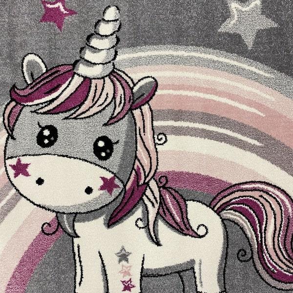 Детски килим – Найс 856 Розов - детайл - 1