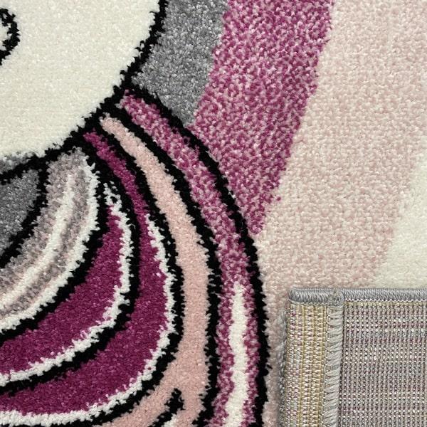 Детски килим – Найс 856 Розов - детайл - 3