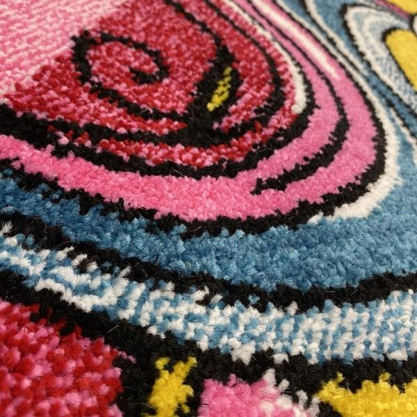 Детски килим – Найс 856 Жълт - детайл - 2
