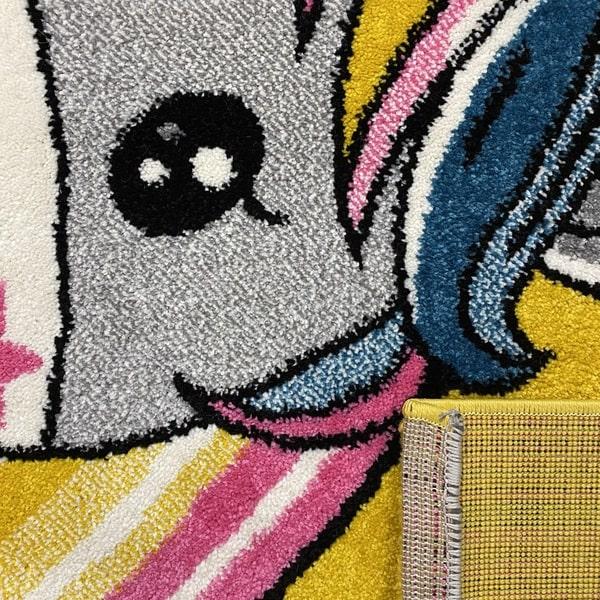 Детски килим – Найс 856 Жълт - детайл - 3