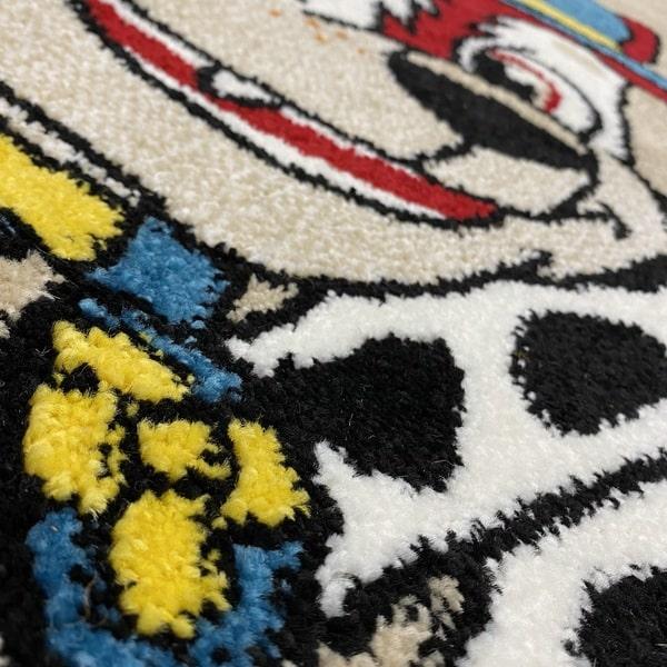 Детски килим – Найс 857 Бежов - детайл - 2