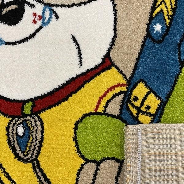 Детски килим – Найс 857 Бежов - детайл - 3