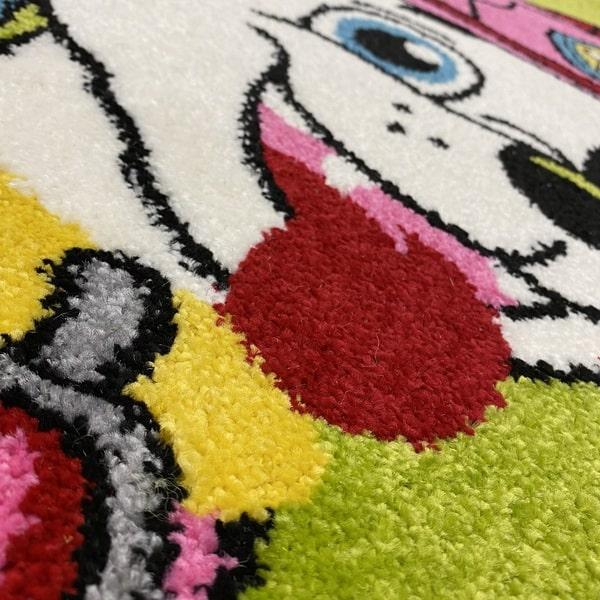 Детски килим – Найс 857 Зелен - детайл - 2