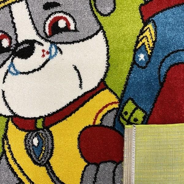 Детски килим – Найс 857 Зелен - детайл - 3