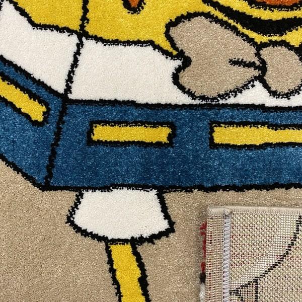 Детски килим – Найс 893 Бежов - детайл - 3