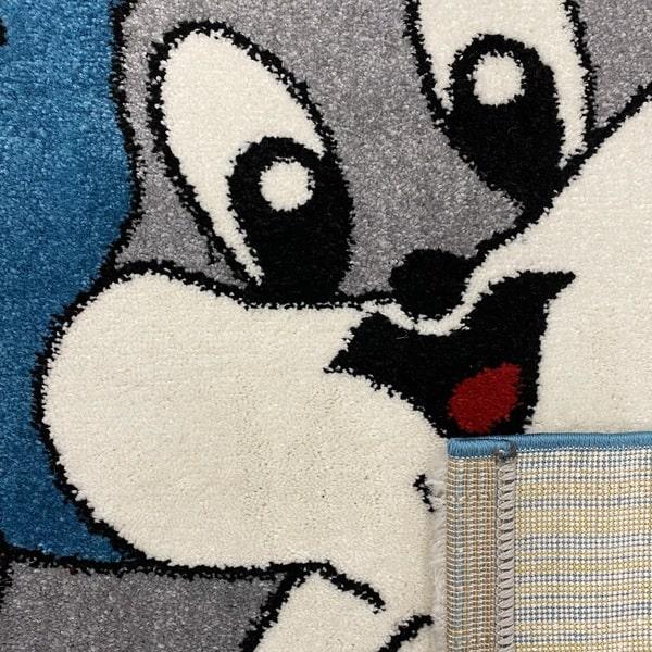 Детски килим – Найс 898 Син - детайл - 3