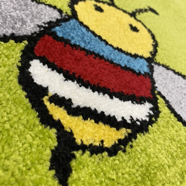 Детски килим – Найс 898 Зелен - детайл - 2