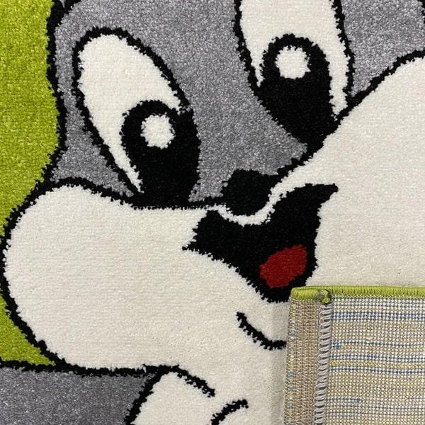 Детски килим – Найс 898 Зелен - детайл - 3