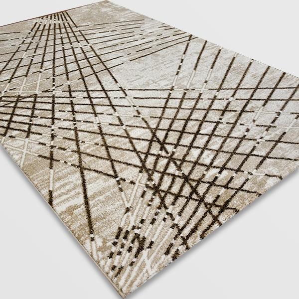 Модерен килим - Ирис 899 Бежов