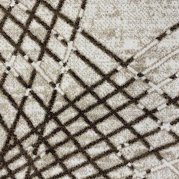 Модерен килим - Ирис 899 Бежов - детайл - 1