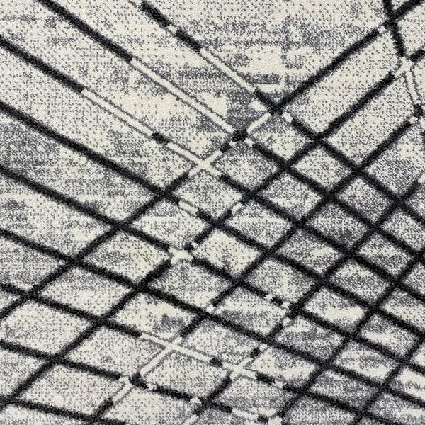 Модерен килим - Ирис 899 Сив - детайл - 1