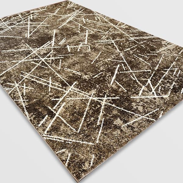 Модерен килим - Ирис 901 Кафяв