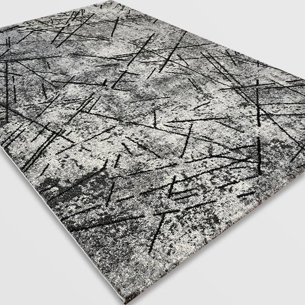 Модерен килим - Ирис 901 Сив