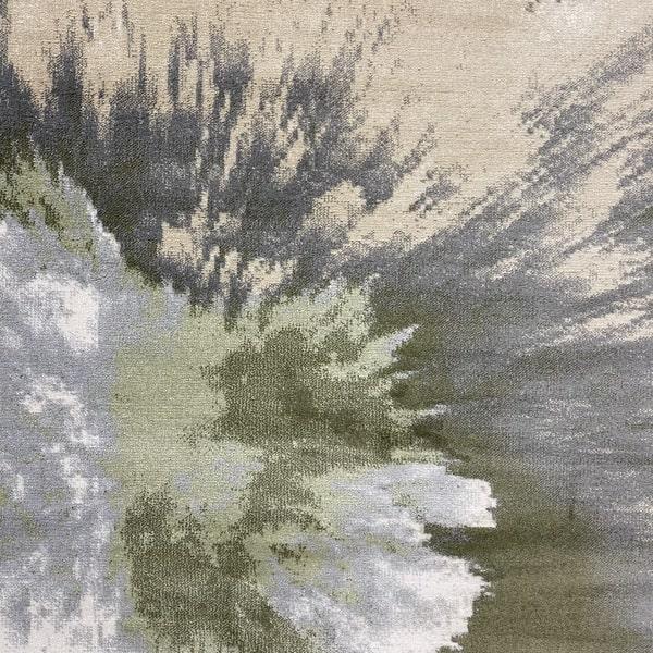 Модерен килим – Неон 6599 Зелен - детайл - 1