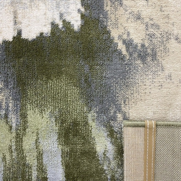 Модерен килим – Неон 6599 Зелен - детайл - 3