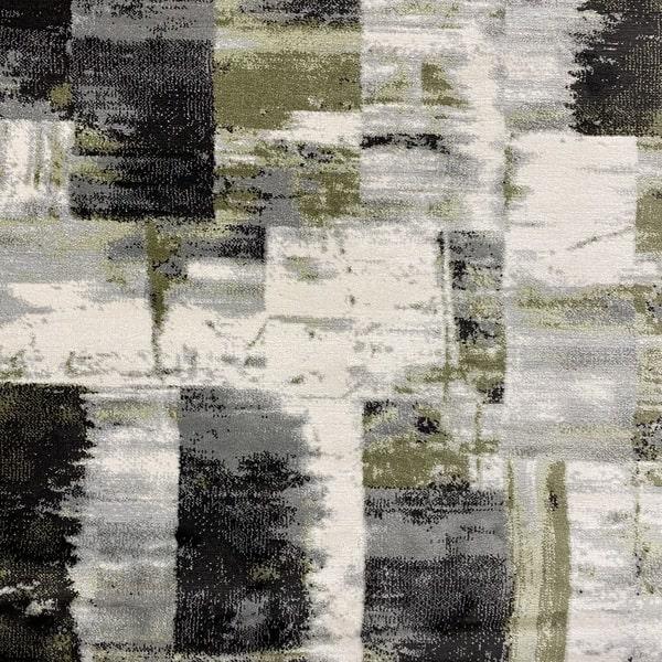 Модерен килим – Неон 6603 Зелен - детайл - 1