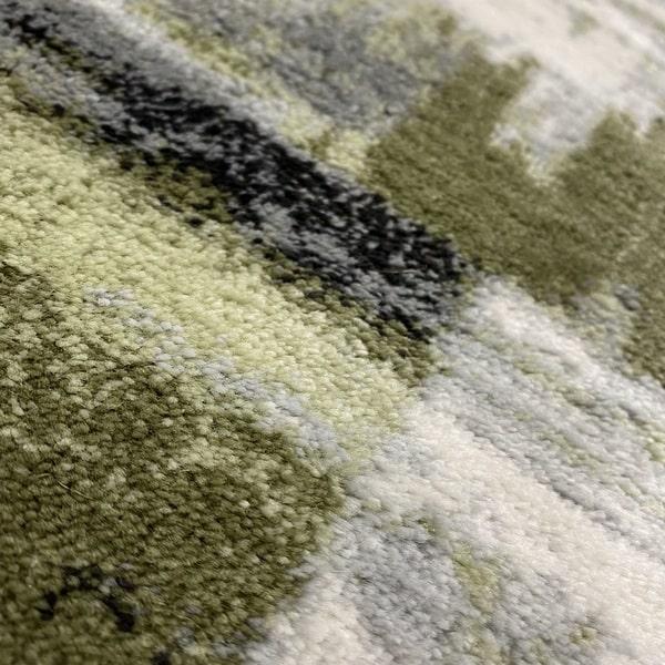 Модерен килим – Неон 6603 Зелен - детайл - 2