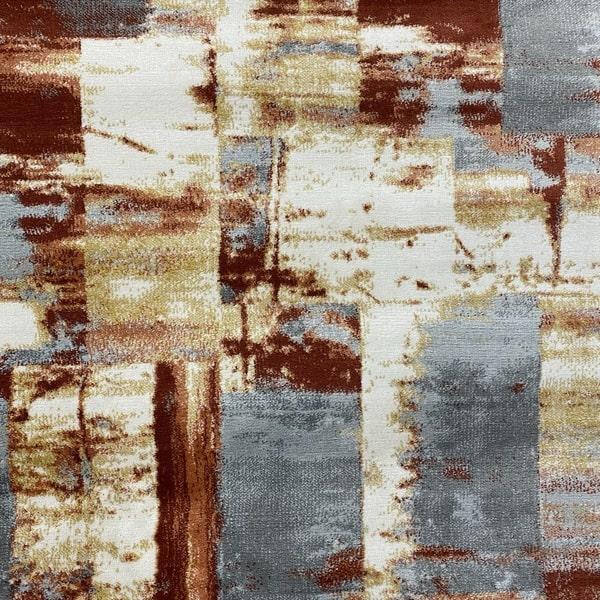 Модерен килим – Неон 6603 Златен - детайл - 1