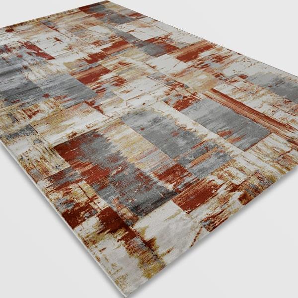 Модерен килим - Неон 6603 Златен