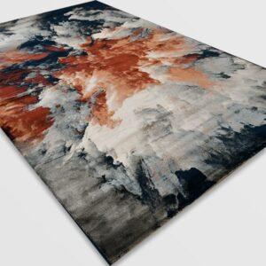 Модерен килим - Неон 6605 Син