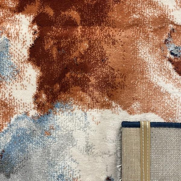 Модерен килим – Неон 6605 Син - детайл - 3