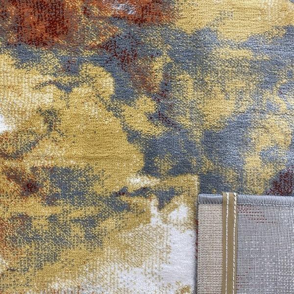 Модерен килим – Неон 6605 Тера - детайл - 3