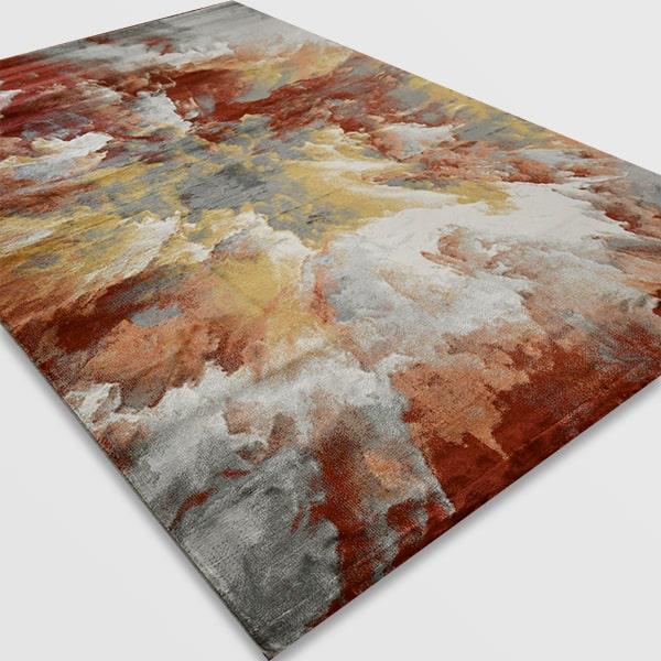 Модерен килим - Неон 6605 Тера