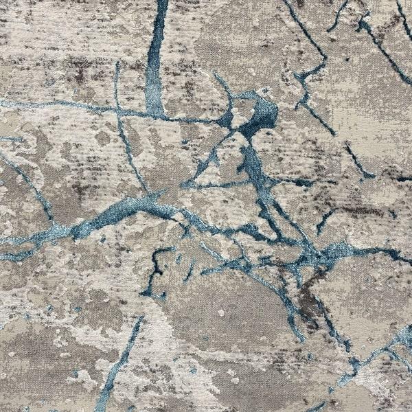 Модерна пътека - Алпина 6093 Тюркоаз - детайл - 1