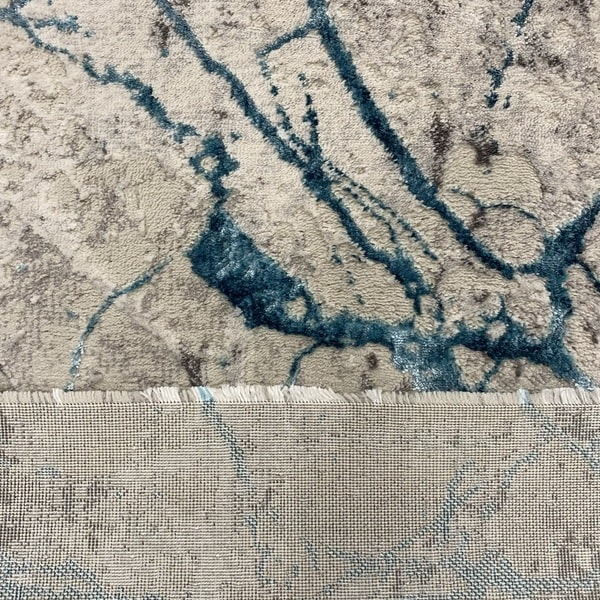 Модерна пътека - Алпина 6093 Тюркоаз - детайл - 3