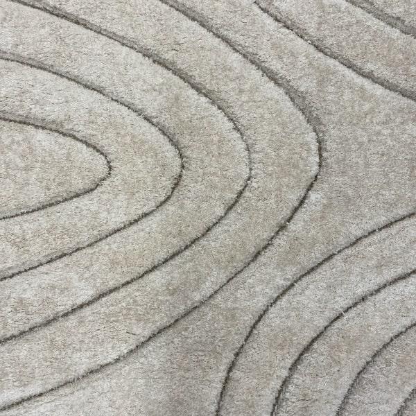 Рошав килим - 3Д Софт Шаги 325 Бежов/Визон - детайл - 1