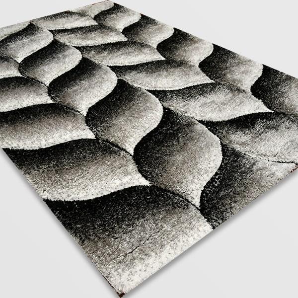 Рошав килим - 3Д Софт Шаги 481 Сив