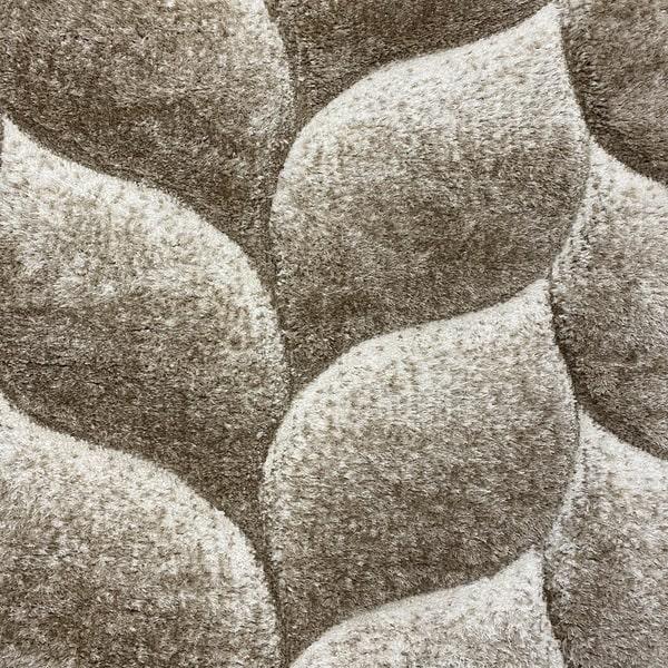 Рошав килим - 3Д Софт Шаги 481 Визон/Бежов - детайл - 1