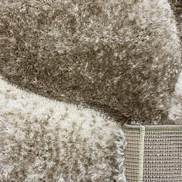 Рошав килим - 3Д Софт Шаги 481 Визон/Бежов - детайл - 3